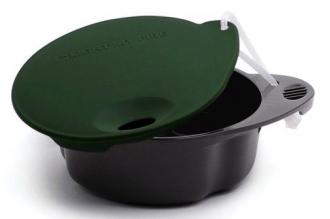 Кружка Spill-free cup, непроливайка (темно-зеленая), Light my Fire, Швеция