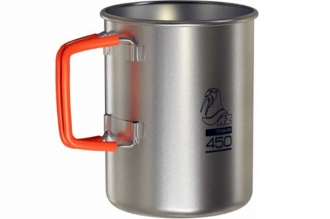 Кружка титановая Titanium Cup 450 ml TM-450FH NZ, Россия