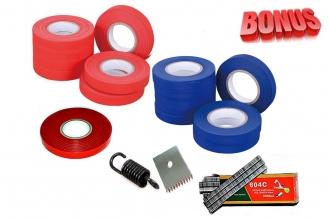 Ленты для тапенера Tapetool BZ-2 (20 шт.), комплект скоб и комплект запчастей