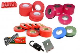Ленты для тапенера Tapetool BZ-2 (40 шт.), комплект скоб и комплект запчастей