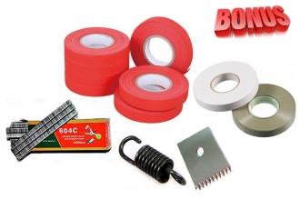 ленты для тапенера Tapetool BZ-2 (10 шт.), комплект скоб и комплект запчастей