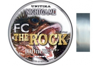Леска FC The ROCK 0.235, Unitika