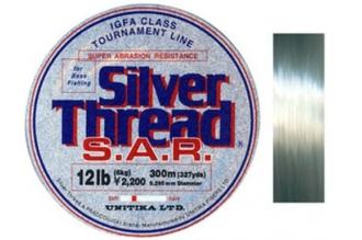 Леска Silver Thread S.A.R. 0.34, Unitika