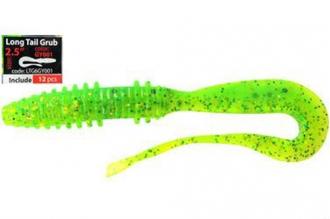 Приманка Long Tail Grub 2,5 (6 см, LTG6GY001) Mystic