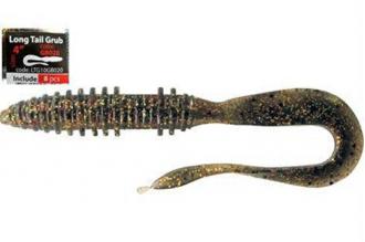 Приманка Long Tail Grub 4 (10 см, LTG10GB020) Mystic