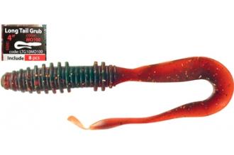 Приманка Long Tail Grub 4 (10 см, LTG10MO100)