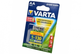 Аккумулятор Longlife Accu 56706 Ready 2 Use  AA 2100 mAh (2 шт.), Varta, Германи