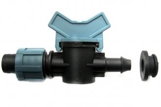 Мини-кран Лента – ПЭ труба с резинкой без поджима
