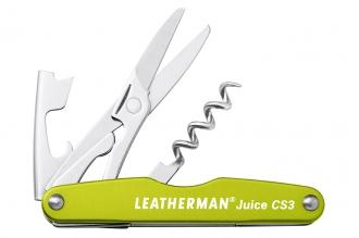 Мультиинструмент (нож сомелье) Juice CS3 (Moss) Leatherman, США