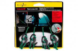 Набор для растяжки тента Figure 9 Tent Line Kit Nite Ize, США