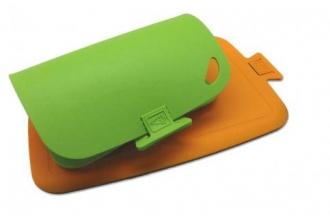 Разделочные доски CHEF Biomaid (зеленый, оранжевый)