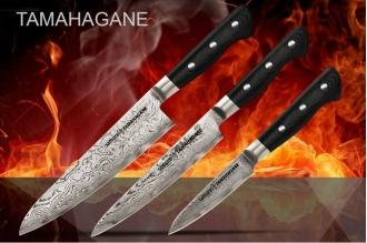 Набор из 3 ножей в подарочной коробке Tamahagane Samura ST-0220/G-10
