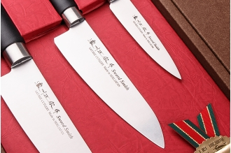 Набор ножей из 3 шт. Sword Smith HG8323 Satake, Япония