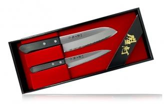 Набор ножей Tojuro из 2 штук (сталь SK-5) Fuji