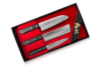 Набор ножей Tojuro из 3 штук (сталь SK-5) Fuji