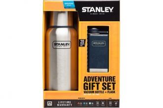 Набор подарочный Adventure термос 0,75 л и фляга 0,15 л Stanley, США