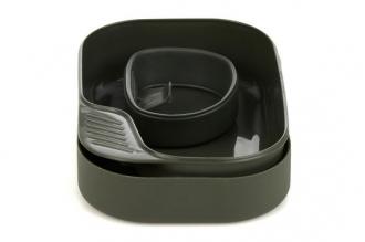 Набор посуды Camp-A-Box Basic (olive) Wildo, Швеция