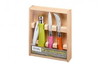 Набор садовых ножей с пилой Opinel