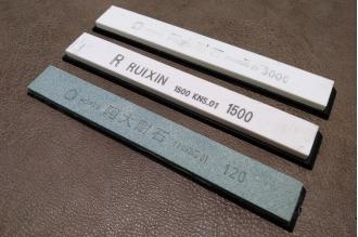 Набор точильных брусков водных из 3 шт. (для станков типа Apex) Ruixin, КНР