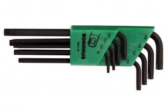 Набор удлиненных ключей Torx из 8 шт. (T9-T40) Bondhus