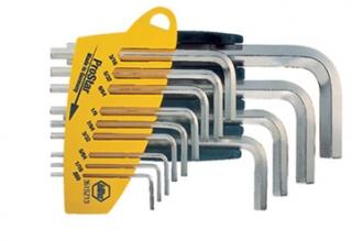 Дюймовые шестигранные ключи, набор из 13 шт. Wiha, Германия
