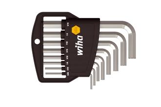 Набор дюймовых шестигранных ключей 8 шт. Wiha 351 HZ8, Германия