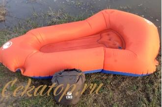 Сверхлегкая надувная лодка (packraft) LiteWater Dinghy (1,0 кг) Klymit