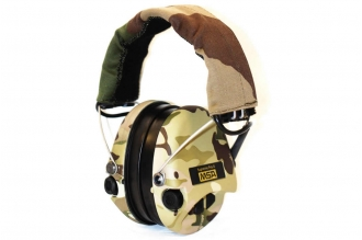 Наушники защитные активные Supreme Pro X-LED (camo) MSA-Sordin