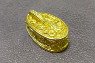 """Навершие """"Солярный символ"""" с кольцом 306 (латунь)"""