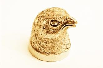 """Навершие для шампура """"Голова птицы"""" 117 (латунь)"""