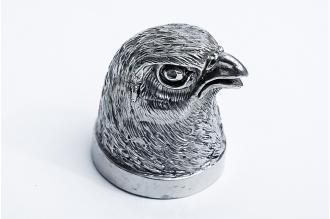 """Навершие для шампура """"Голова птицы"""" 117 (мельхиор)"""