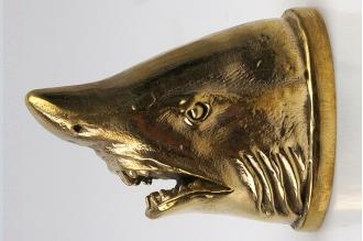 Навершие «Голова акулы» 101 (латунь)