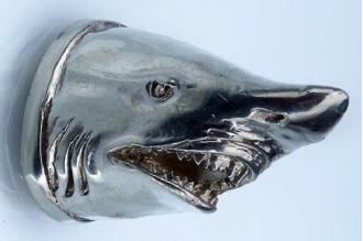 Навершие «Голова акулы» 101 (мельхиор)