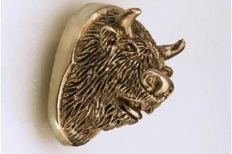 Навершие «Голова быка» 139 (латунь)