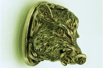 Навершие «Голова кабана» 149 (латунь)