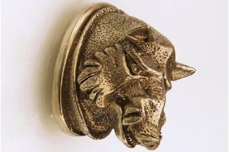 «Голова кабана матовая» 143 (латунь)