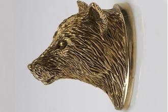 Навершие «Голова лисы» 121 (латунь)