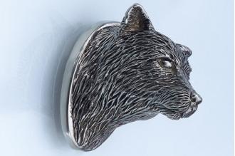 Навершие «Голова лисы» 121 (мельхиор)