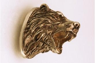Навершие «Голова медведя» 128 (латунь)