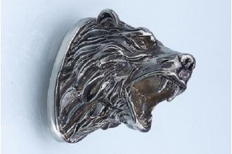 Навершие «Голова медведя» 128 (мельхиор)