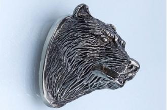 Навершие «Голова медведя» 135 (мельхиор)