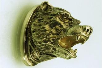 Навершие «Голова медведя» 153 (латунь)