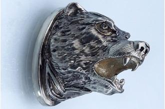Навершие «Голова медведя» 153 (мельхиор)