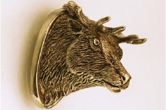 «Голова оленя» 157 (латунь)