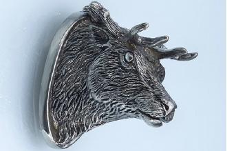 «Голова оленя» 157 (мельхиор)