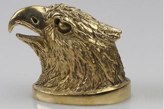 Навершие «Голова орла» 123 (латунь)