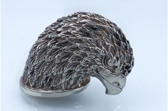Навершие «Голова орла длинношеего» 138 (мельхиор)