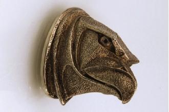Навершие «Голова орла матовая» 145 (латунь)