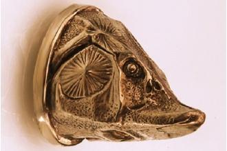 Навершие «Голова осетра» 156 (латунь)