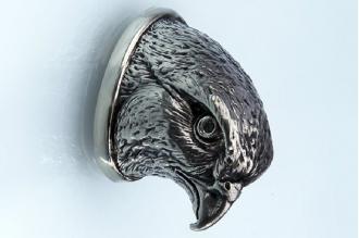 Навершие «Голова сокола» 154 (мельхиор)